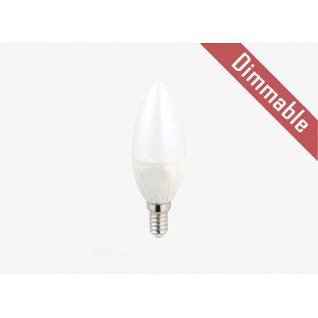 Led κερι 5W Ε27 Dimmable