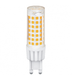ΛΑΜΠΑ G9 LED 8,5W WARM CERAMIC+PC 3000k